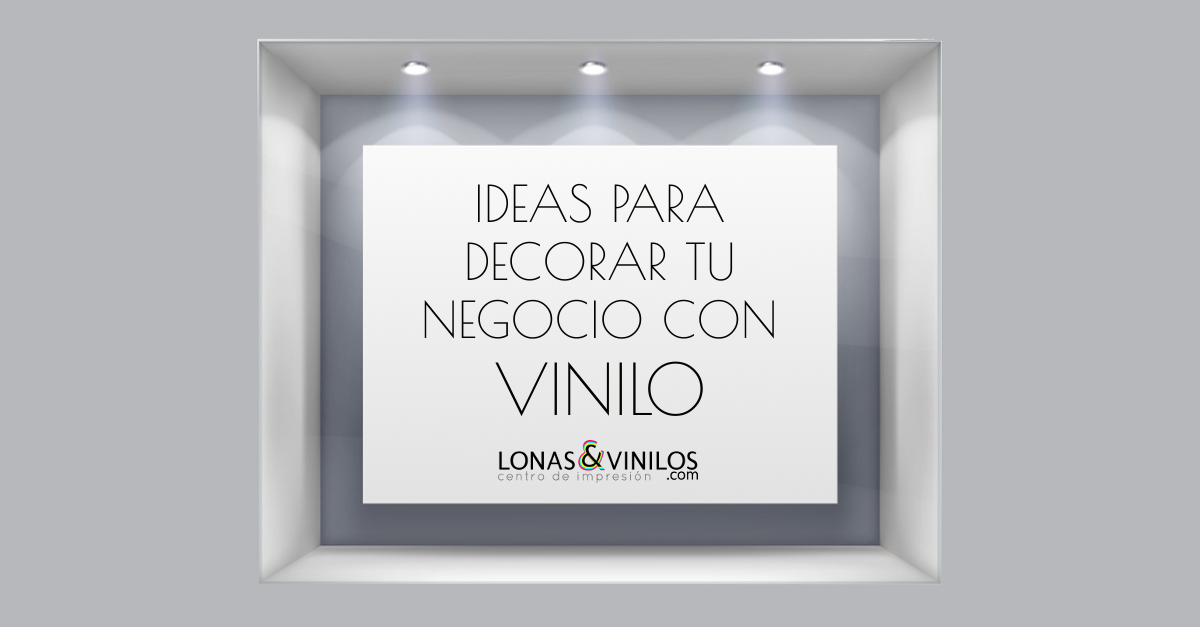 Ideas para decorar tu negocio con vinilo blog lonasyvinilos for Frases en vinilo para pared