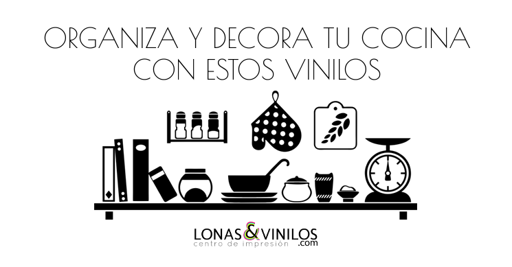 Decora y organiza tu cocina con estos vinilos blog - Papel de vinilo para cocinas ...