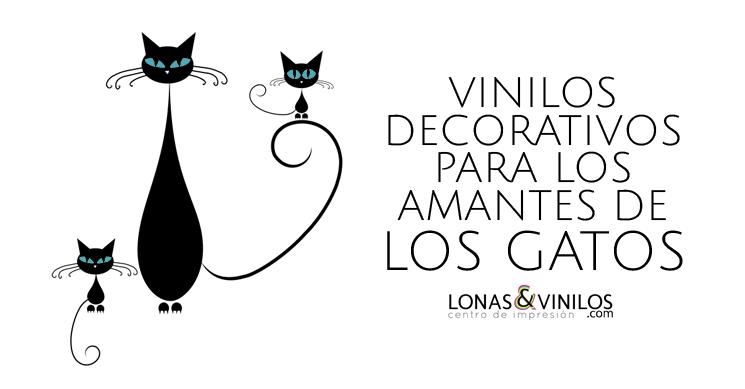 Si te gustan los gatos este es tu vinilo decorativo - Vinilos decorativos gatos ...