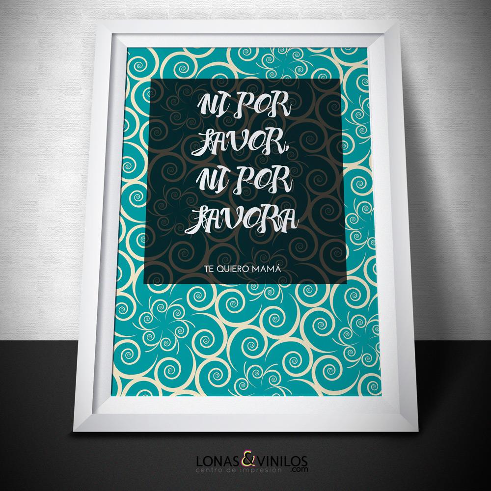 Cuadros con frases de madres, un regalo para el día de la madre de ...