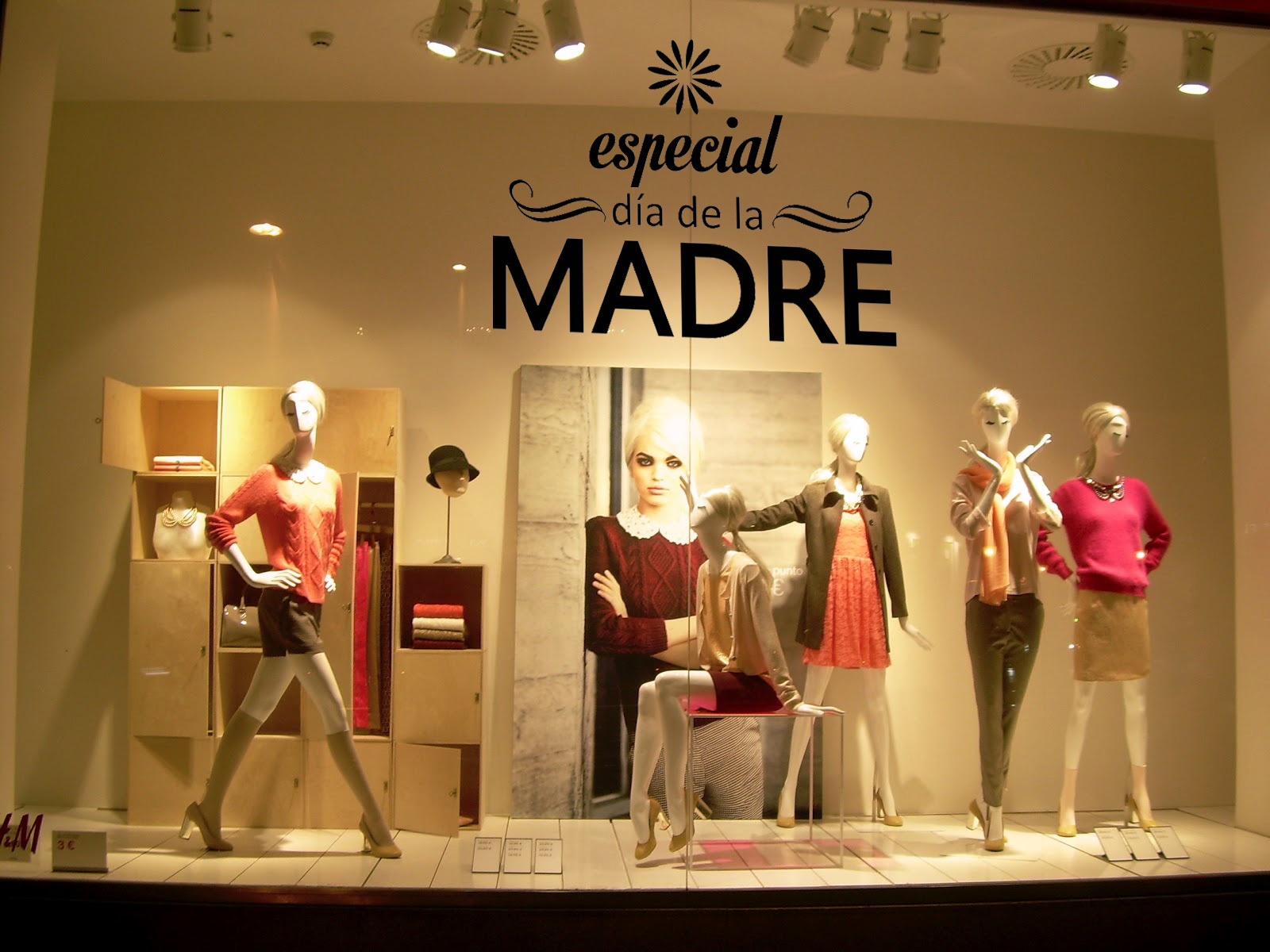 Ideas de escaparates para el d a de la madre blog - Ideas para escaparates ...